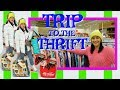 TRIP TO THE THRIFT! (A BIG ONE)