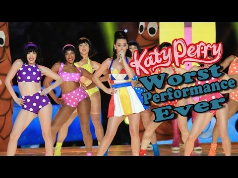 Katy Perry - Worst Performace Ever - Shreds
