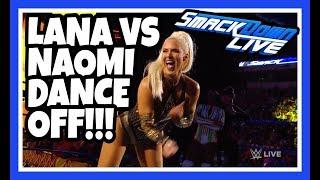 😂 Reaction   Lana vs Naomi - Dance Off!!!   WWE Smackdown Live May 29,2018