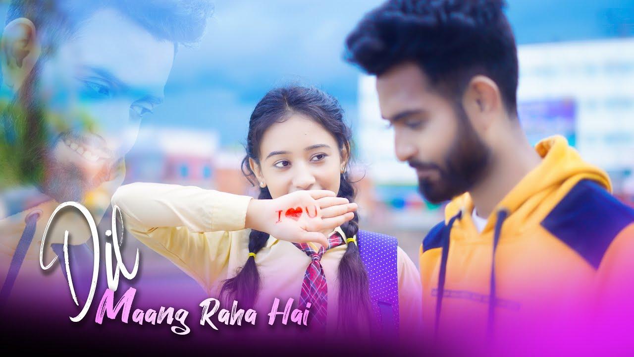 Dil Maang Raha Hai Mohlat   Cute Romantic School Love Story   Tere Sath Dhadakne ki   STR Hits