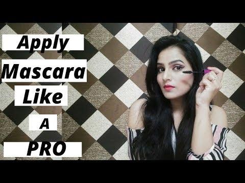Apply Mascara like A pro # How to apply mascara perfectly ..