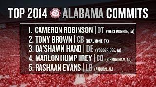 Alabama football recruiting 2014: early impact freshmen, recruiting class breakdown