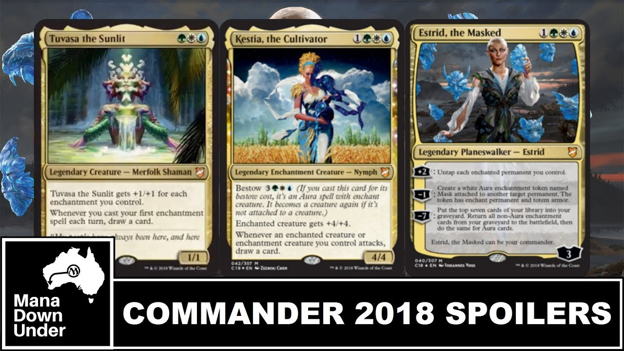 MTG Commander 2018 Spoilers - The Bant-er Is Real (Part 4)