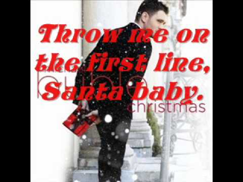 Santa Baby - Michael Buble