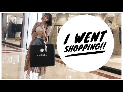 I WENT SHOPPING! My first Chanel Bag!