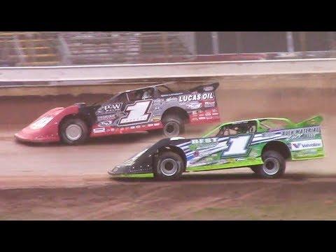 Lucas Oil Late Model Dirt Series Heat Two | Sharon Speedway | 7-2-18