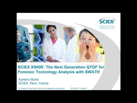 SCIEX X500R: The Next Generation QTOF for Forensic Toxicology Analysis with SWATH
