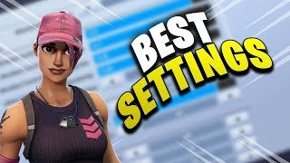 BEST FORTNITE CONSOLE SETTINGS (PS4)! BEST SETTINGS FOR BUILDING AND ACCURACY