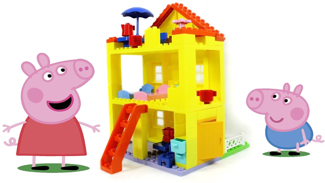 peppa pig lego house instructions