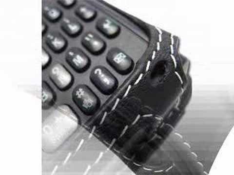 CarryMobile Leather Case for Samsung BlackJack i607 - Sleeve