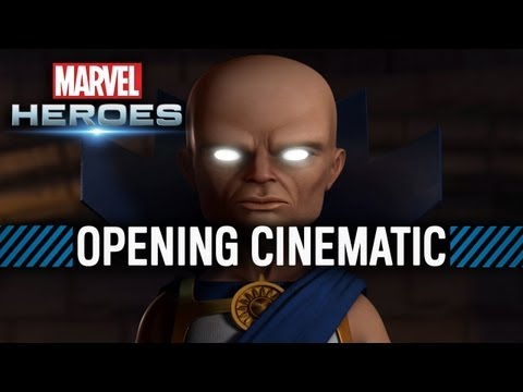 Marvel Heroes - Opening Cinematic - Marvel Origins