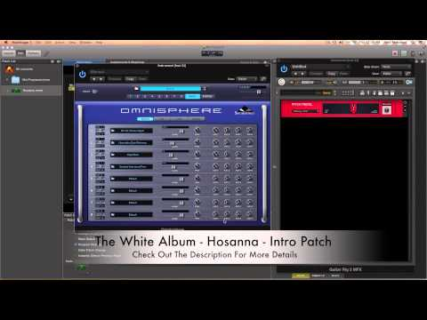 Hillsong United - The White Album - Hosanna Remix Patch
