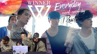 WINNER - 'EVERYDAY'  REACTION (FIRST TIMERS)