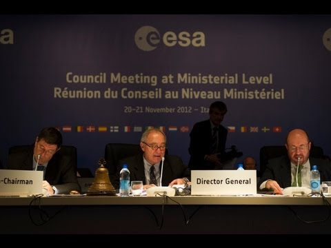 ESA Ministerial Council Press Conference replay