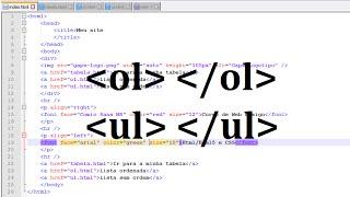 Como criar um site do zero - Aulas de HTML/HTML5 e CSS - Aula 5