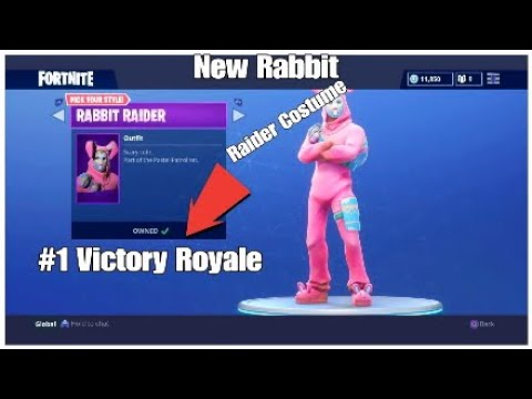 New Rabbit Raider Costume Is OP?  Console Legend