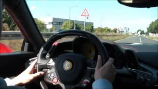 Ferrari 458 italia Typ V8 90°Gesamthubraum 4497 cm3 Höchstleistung ...