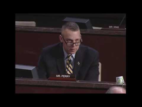 """Rep. Scott Perry (R-PA) questions ideological """"extreme vetting"""" policies of the DHS"""