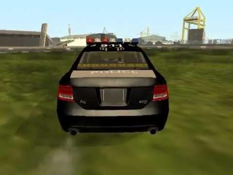 Audi A6 30 TDI Police  GTA San Andreas  GGMM