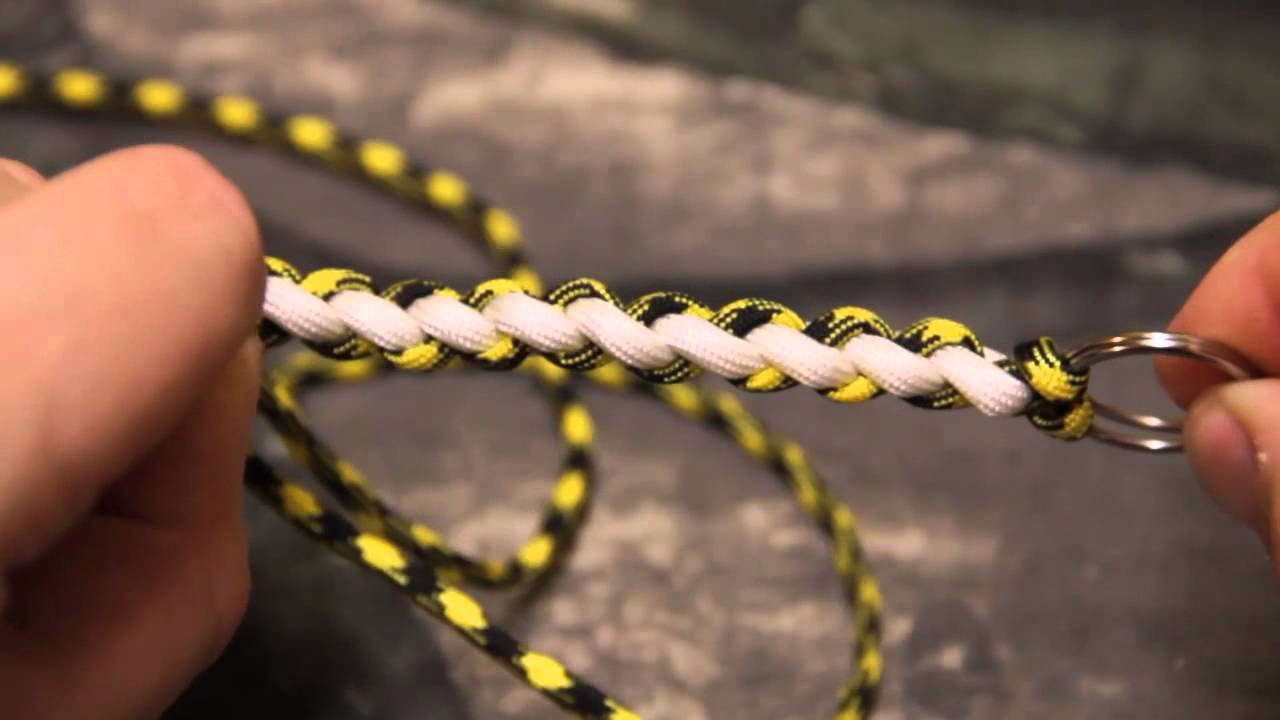Super Easy Paracord Seesaw Knot Tutorial Youtube