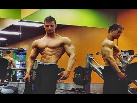 CHEST & ARM WORKOUT - Anytime Fitness, Las Vegas, Nevada, USA -|Post Natural Olympia INBA/PNBA|