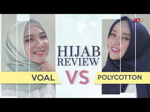 Hijab Bahan Voal Polos 42