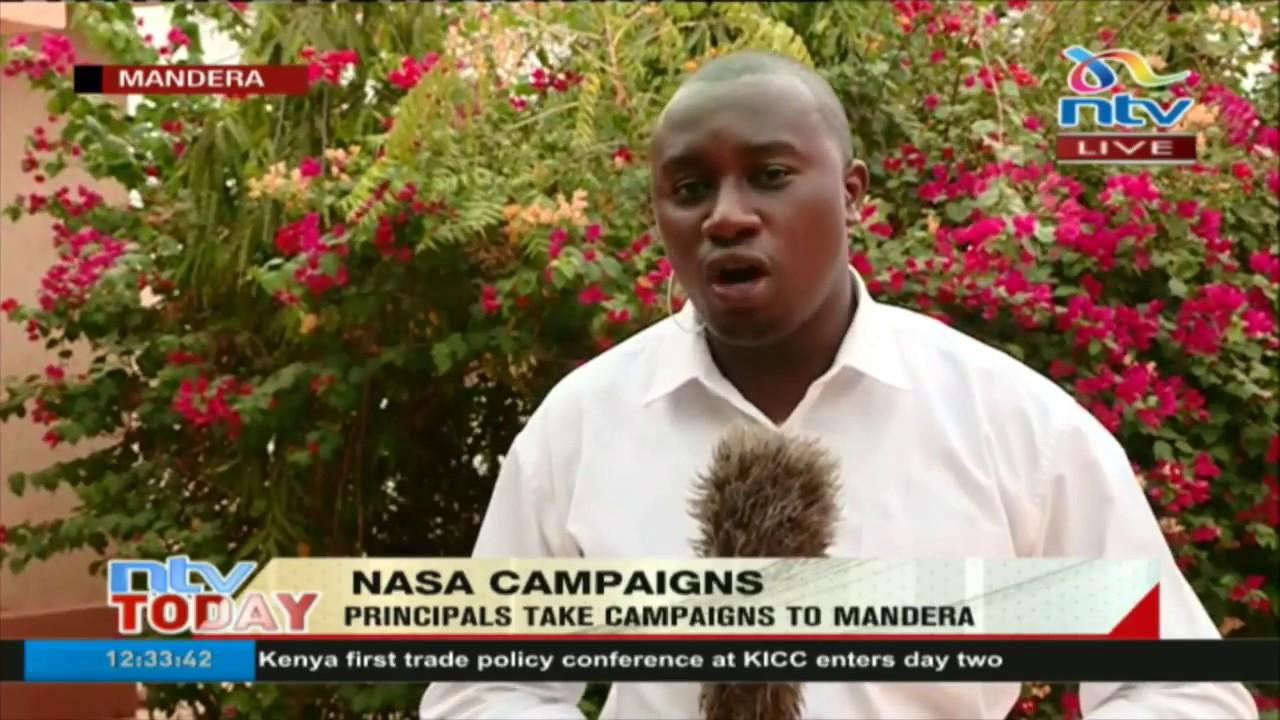 NASA principals take campaigns to Mandera