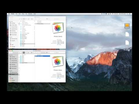 How To Move Apple Photos Library Into Dropbox Or To An External Hard Drive