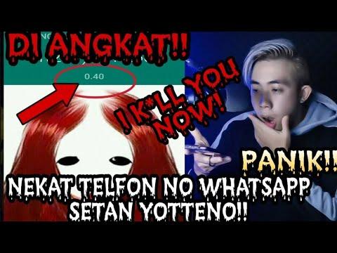 NEKAT ! TELEPON YOTTENO DI ANGKAT !! SUMPAH MERINDING !!