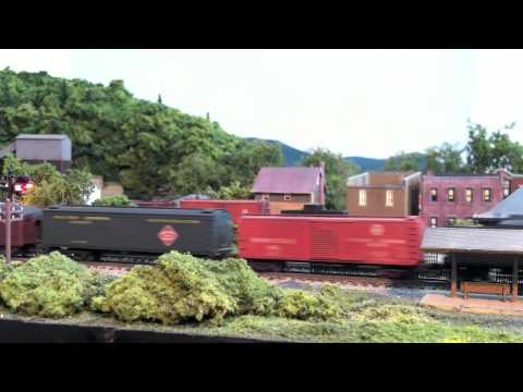 Dave vollmer n scale layout