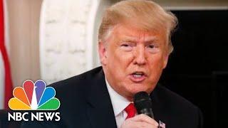 As Elections Near, President Donald Trump Emphasizes Record Job Growth | NBC News