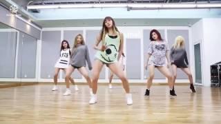 Кореянки танцуют. Korean girls dancing
