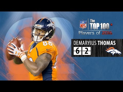 #62: Demaryius Thomas (WR, Broncos) | Top 100 NFL Players of 2016