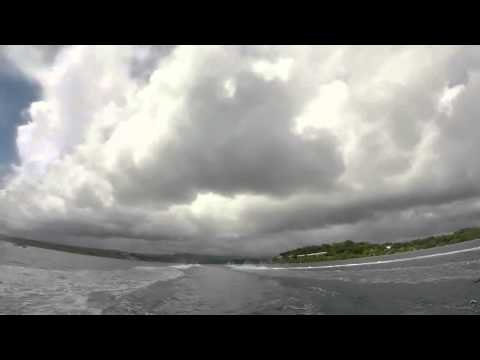 David crossing wakes - Jet Ski in Vanuatu