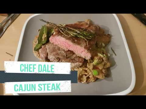 Creamy Cajun Steak - 60 Second Chef