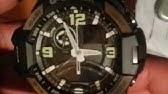 57572c162db Como ajustar o ponteiro com o digital do meu - G-SHOCK BLACK X GOLD ...