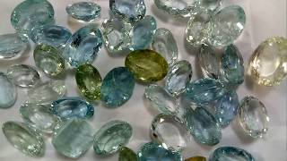 Buy Natural Aquamarine Gemstone Wholesale Lots in Wholesale Prices from Gemstone Manufacturer Jaipur