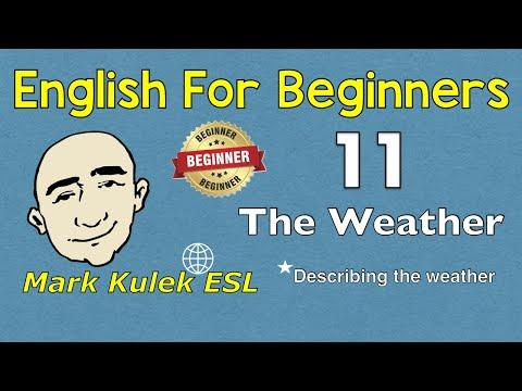 The Weather + vacation conversation | Mark Kulek - ESL