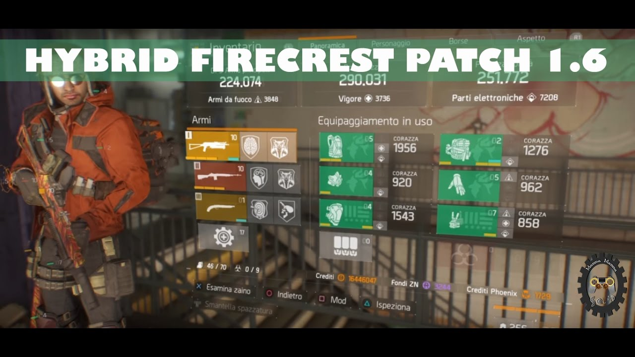 The Division: Hybrid FIRECREST Build + Variante [Patch 1.6