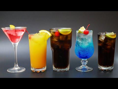 Алкогольные коктейли рецепты в домашних условиях простые рецепты