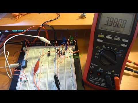 Solar Powered Kindle  - Part 13: Schmitt Trigger using 555 timer