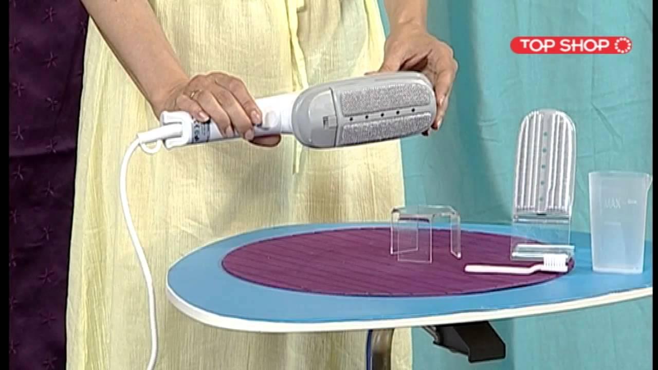 Щетка паровая для одежды Steam Brush - YouTube f77c65a6a6d60