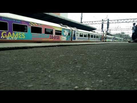 KA Cirebon Express Relasi Rangkaian Asian Games
