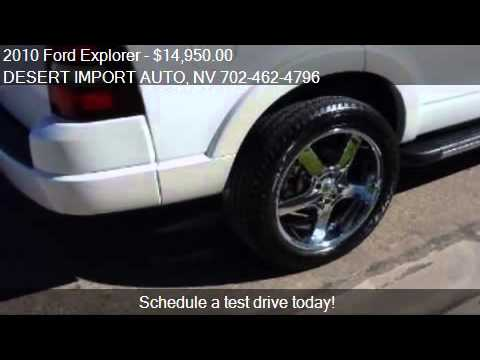 2010 Ford Explorer Limited 4x2 4dr SUV for sale in Las Vegas
