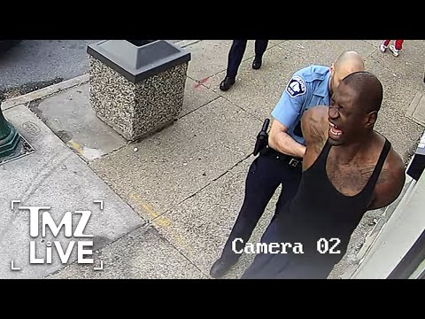 Surveillance Video Shows George Floyd Before Killing   TMZ Live