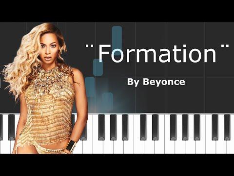 "Beyonce - ""Formation"" Chords - Karaoke - Instrumental - Piano"