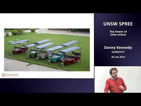 UNSW SPREE 201407-30 Danny Kennedy - The Power of Solar-utions