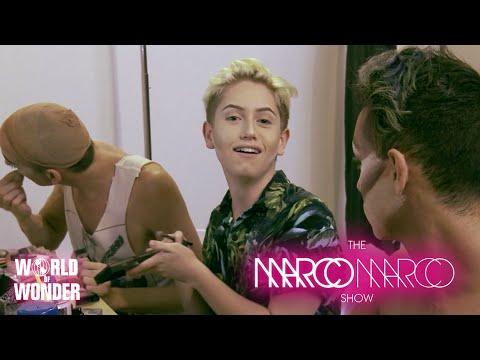 #MarcoMarcoShow - Pt. 2 Backstage with Sharon Needles, Alyssa Edwards, Shangela, & Many More