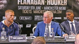 Terry Flanagan vs. Maurice Hooker FIESTY PRESS CONFERENCE | Full Undercard Press Conference boxing thumbnail