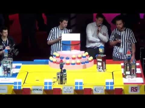 2013 - RCVA vs ESEO-TEAM - Coupe de France de robotique 2013